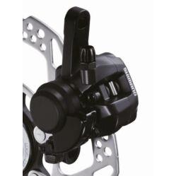 Shimano BR-R317 cyclocross mechanikus tárcsafék, féktárcsa nélkül, első, fekete