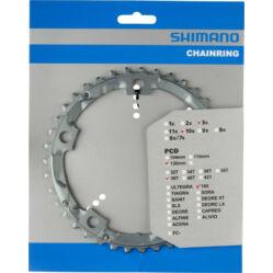 Shimano 105 FC-5603 országúti lánckerék, 39T, 3x10s, 130 mm, alumínium, ezüst színű