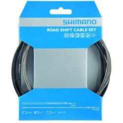 Shimano ROAD váltóbowden készlet, fekete