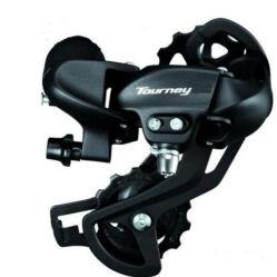 Shimano Tourney TY-500 közepes kanalas hátsó váltó ,6-7s, fekete