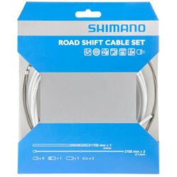 Shimano Dura Ace váltóbowden készlet fehér