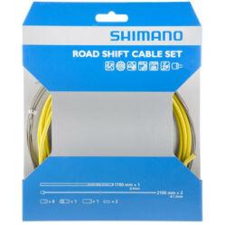 Shimano Dura Ace váltóbowden készlet sárga