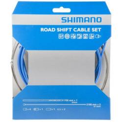 Shimano Dura Ace váltóbowden készlet kék