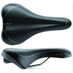 Sportourer Garda Gel férfi komfort nyereg, 270 x 165 mm, 570 g, fekete