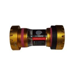Spyral Truvativ-Sram-GXP integrált középcsapágy, 68-73 mm, arany színű