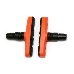 Spyral Robust menetes fékpofa, 60 mm-es, narancs-fekete