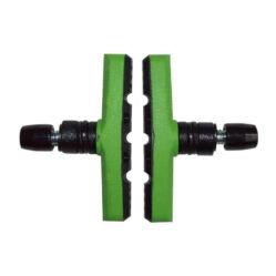 Spyral Robust menetes fékpofa, 60 mm-es, zöld-fekete