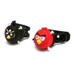 Spyral 2 LED-es Angry Birds első + hátsó villogó szett