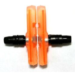 Spyral Robust menetes fékpofa, 60 mm-es, átlátszó narancs