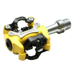Spyral Speed ipari csapágyas SPD patentpedál, sárga