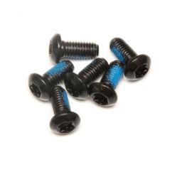 Spyral féktárcsa csavar szett, 6 db, T25, M5 x 10 mm, fekete
