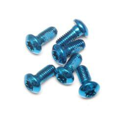 Spyral féktárcsa csavar szett, 6 db, T25, M5 x 10 mm, kék
