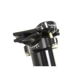 Thomson Elite nyeregcsőhöz alsó és felső befogó lemez készlet fekete