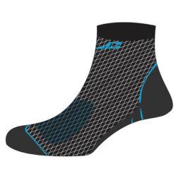 XLC CS-L01 Merino zokni, fekete-kék, L-es (43-46)