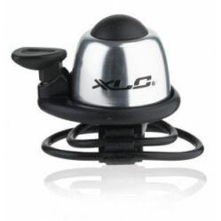 XLC DD-M09 pengetős, gumipántos alu csengő, ezüst