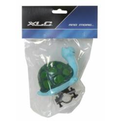 XLC gyerek duda, zöld, teknős alakú