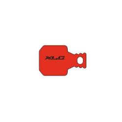 XLC BP-O38 tárcsafék fékbetét Magura MT5 és MT7 fékhez, acél alap, organikus pofa, 1 pár