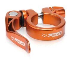 XLC PC-L04 gyorszáras nyeregcső bilincs, 31,8 mm, narancs