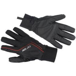XLC CG-L07 hosszú ujjú, téli, szélálló kerékpáros kesztyű, fekete, XXL-es