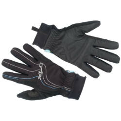 XLC CG-L08 hosszú ujjú, téli, víz- és szélálló kerékpáros kesztyű, fekete, XXL-es