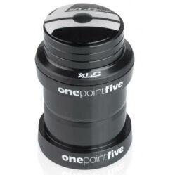 XLC HS-A09 1,5 colos külső csészés A-Head kormánycsapágy, ipari csapágyas, acél csészés, fekete
