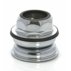 XLC HS-I04 1 1/8 colos menetes félintegrált kormánycsapágy, cartridge, acél csészés, ezüst színű