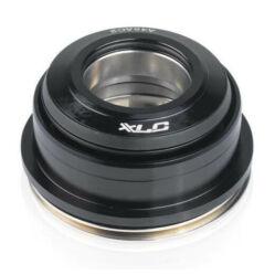 XLC HS-I08 Tapered félintegrált kormánycsapágy, ipari csapágyas, alu csészés, fekete