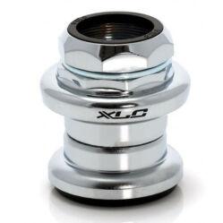 XLC HS-S02 1 1/8 colos menetes külső csészés kormánycsapágy, golyóskosaras, acél csészés, ezüst