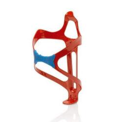 XLC BC-A07 alumínium-gumi kulacstartó, piros-kék