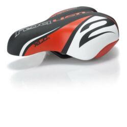 XLC SA-C02 junior nyereg, fekete-piros-fehér