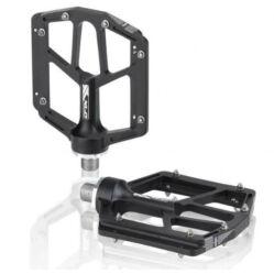 XLC PD-M19 ipari csapágyas műanyag platform pedál, cserélhető szegecsekkel, kék