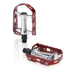 XLC PD-M15 Ultra Light alumínium keretes alu pedál, piros-ezüst