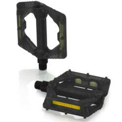 XLC PD-M16 műanyag platform pedál, átlátszó fekete