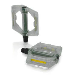 XLC PD-M16 műanyag platform pedál, átlátszó