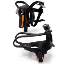 XLC PD-S13 Look Keo kompatibilis országúti patentpedál, ipari csapágyas, fekete