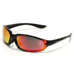 XLC SG-C06 Galapagos kerékpáros sportszemüveg, cserélhető lencsés, fekete, 3 lencsével