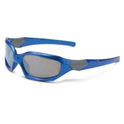 XLC SG-K01 Maui gyerek napszemüveg, fix lencsés, kék, füst színű lencsével