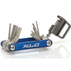 XLC TO-M07 marokszerszám, 15 funkciós, kék