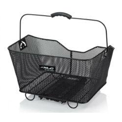 XLC BA-B03 zárható, gyorszáras műanyag doboz csomagtartóra, 12 liter, fekete