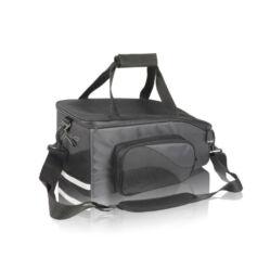 XLC BA-S47 egy részes csomagtartó táska gyorszáras adapterrel, 15L, fekete
