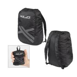 XLC BA-S55 összahajtható kerékpáros hátizsák, 10L, fekete