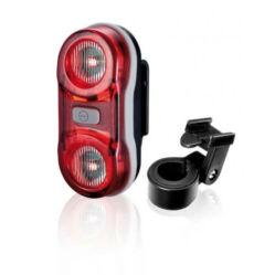 XLC CL-R11 Bianca hátsó lámpa nyeregcsőre, 2x0,5W LED