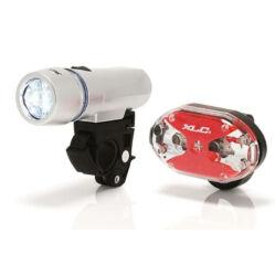 XLC CL-S03 Triton - Thebe elemes első és hátsó 5 LED lámpa szett, elemekkel