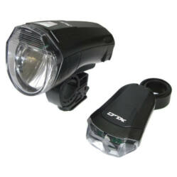 XLC CL-S14 elemes első és hátsó LED lámpa szett, elemekkel, fekete