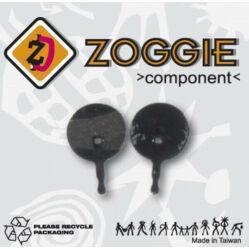 Zoggie fékbetét BB5 tárcsafékhez, acél alap - szintetikus pofa