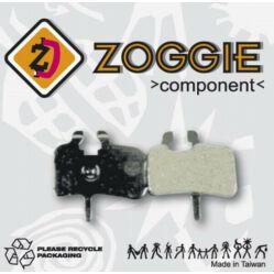 Zoggie fékbetét Hayes HFX tárcsafékhez, acél alap - szintetikus pofa