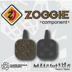 Zoggie fékbetét Tektro tárcsafékhez, acél alap - szintetikus pofa