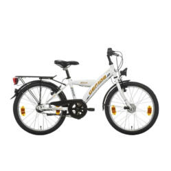 Gepida Bolia 200 20-as junior kerékpár, 3s (agyváltós), acél, 30 cm, zöld
