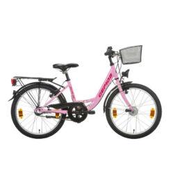 Gepida Bolia 200 20-as junior kerékpár, 3s (agyváltós), acél, 30 cm, rózsaszín