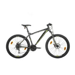 Gepida Mundo Pro alu 26-es MTB kerékpár, 21s, 19 col, matt szürke